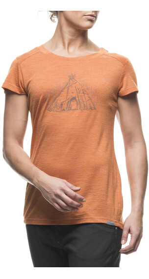 Houdini W's Activist Message Tee Saddle Brown